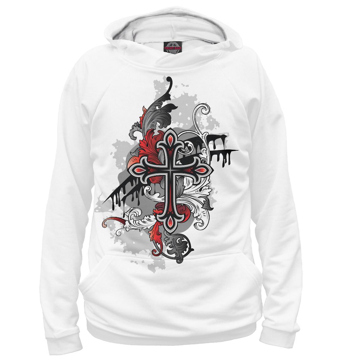 Купить Ирландия, кельтский крест, Printbar, Худи, CTS-296372-hud-1