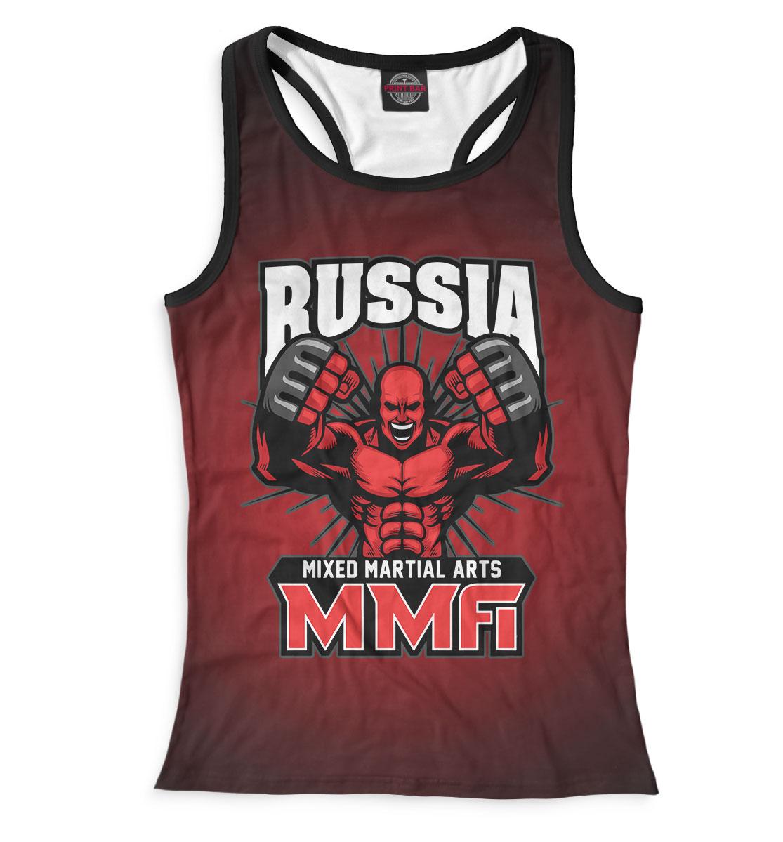 Купить MMA Russia, Printbar, Майки борцовки, MNU-882234-mayb-1