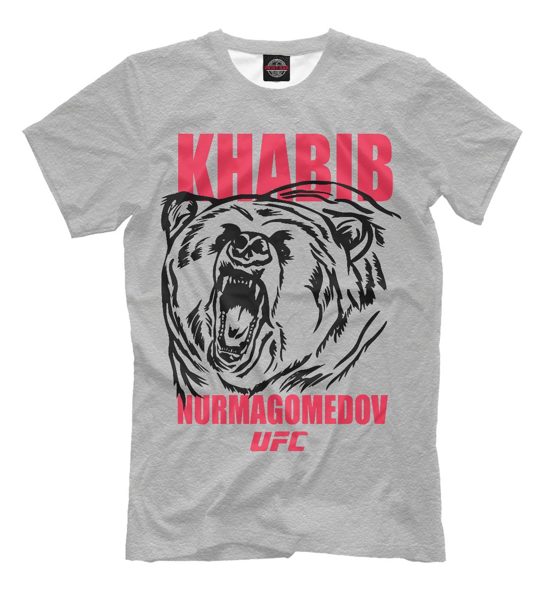 Купить Khabib Nurmagomedov UFC, Printbar, Футболки, NUR-692018-fut-2