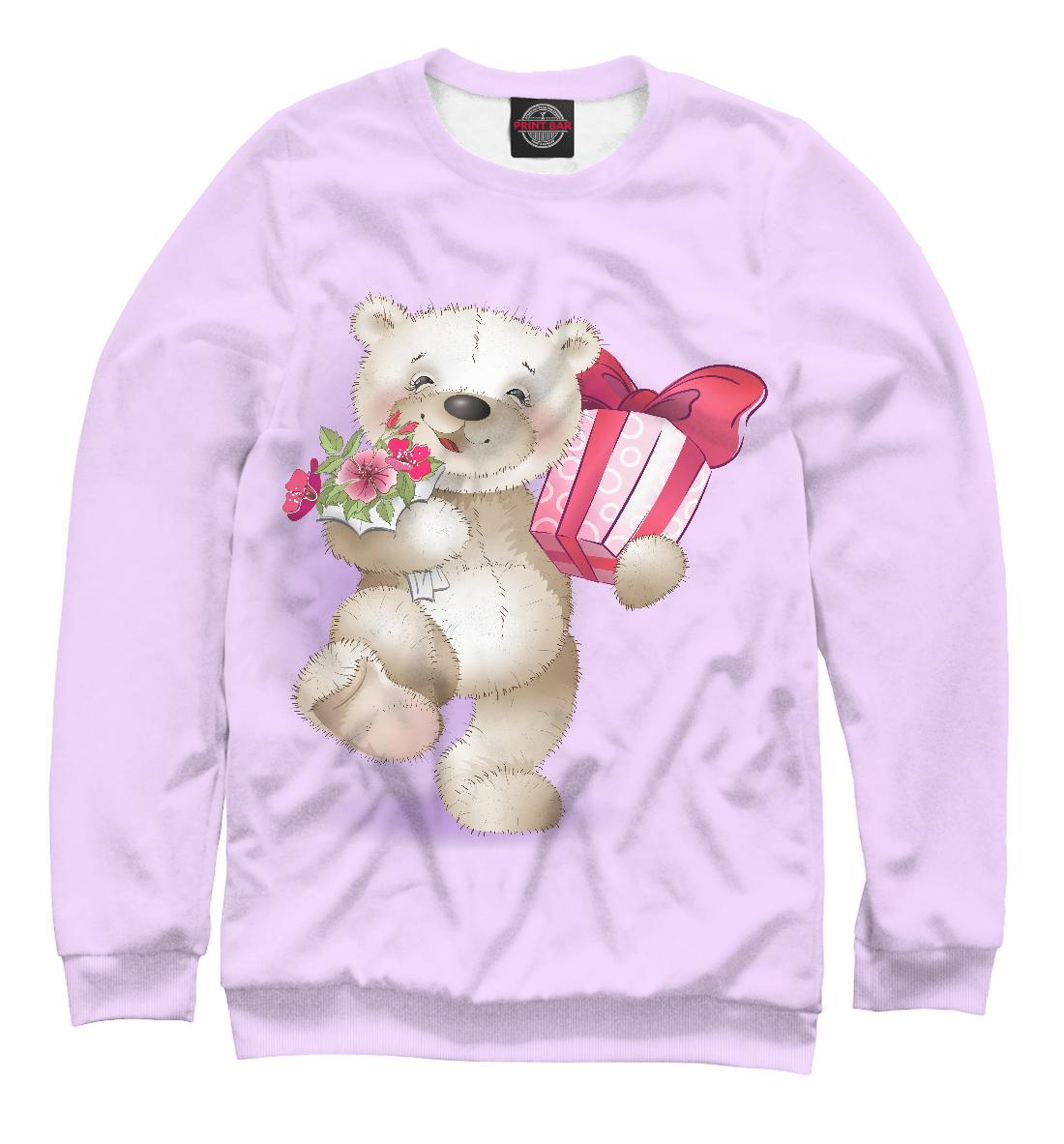 Купить Милый медвежонок, Printbar, Свитшоты, MRT-433152-swi-2