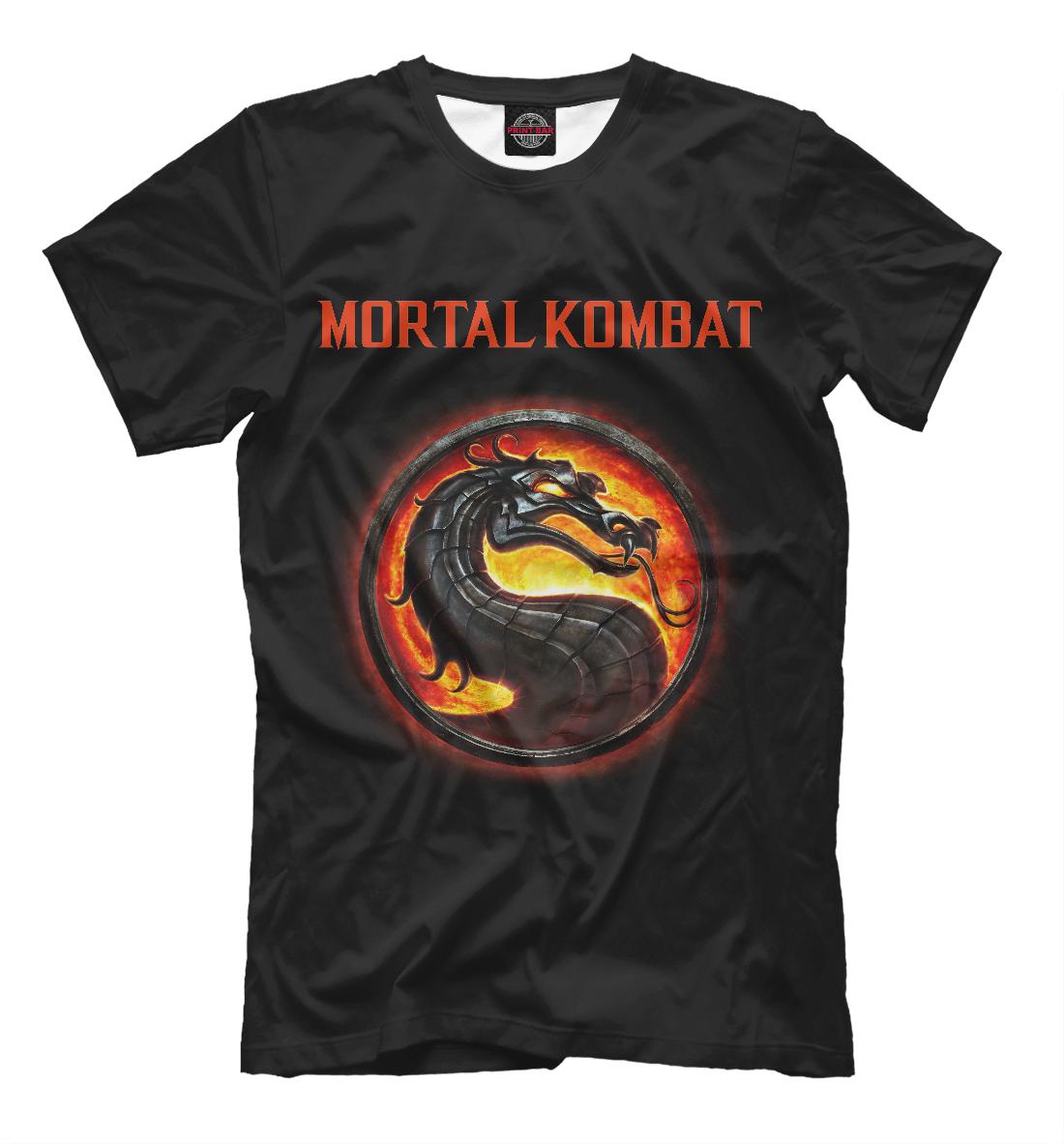 Купить Mortal Kombat, Printbar, Футболки, MKB-860737-fut-2