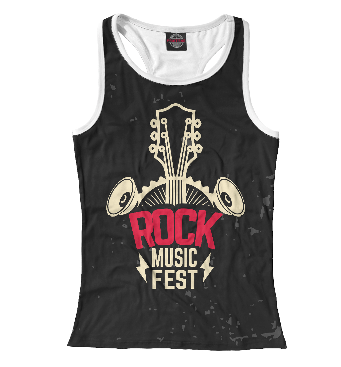 Купить Rock-n-Roll, Printbar, Майки борцовки, RCK-827650-mayb-1