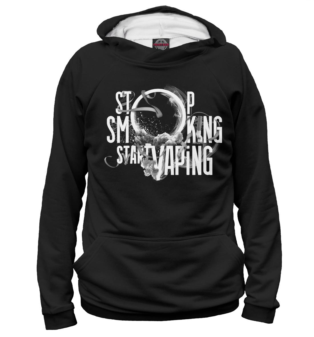 Купить Stop Smoking Start VAping, Printbar, Худи, APD-315512-hud-2