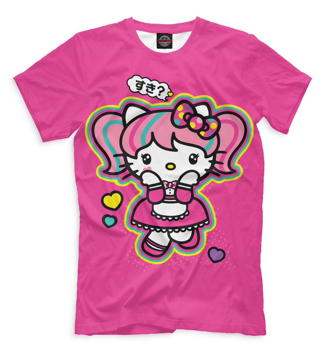 Купить Hello Kitty, Printbar, Футболки, HLK-185738-fut-2