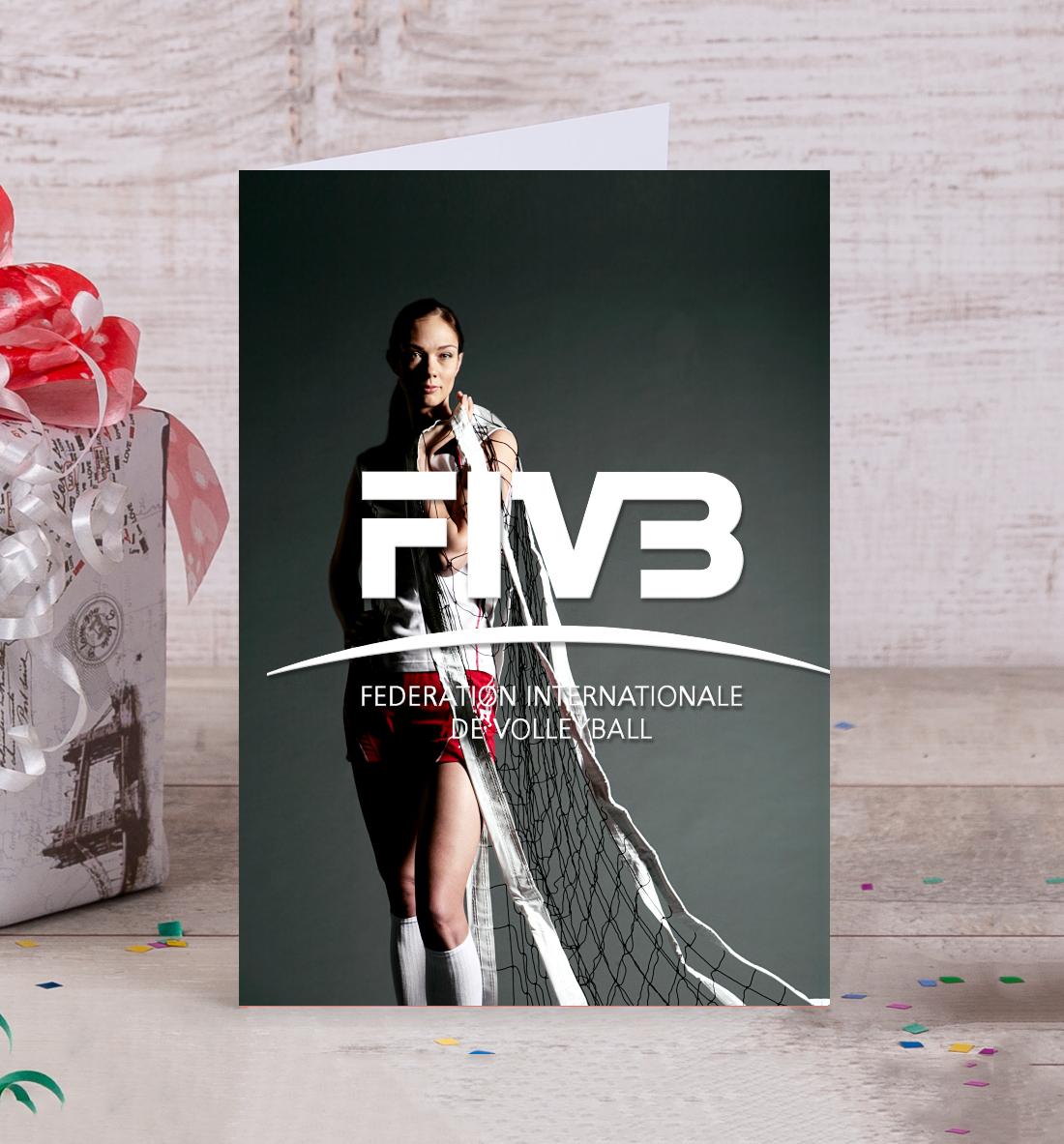 Купить FIVB, Federation Internationale de Volleibal, Printbar, Открытки, VLB-429693-otk