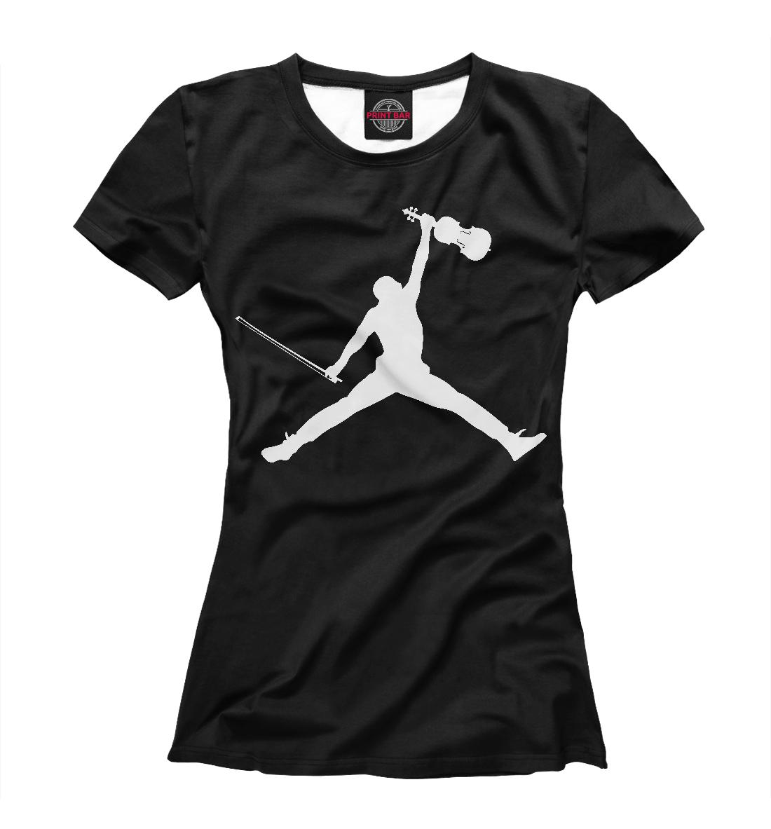 Купить Jordan Music, Printbar, Футболки, NBA-899547-fut-1