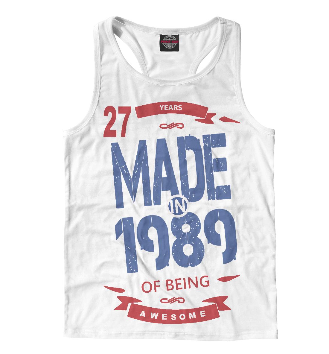 Купить Рожденный в 1989, Printbar, Майки борцовки, RZP-524640-mayb-2