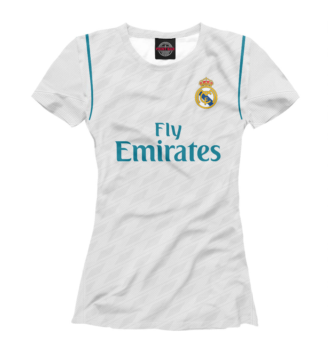 Купить Форма Реал Мадрид Домашняя 17/18, Printbar, Футболки, REA-977039-fut-1