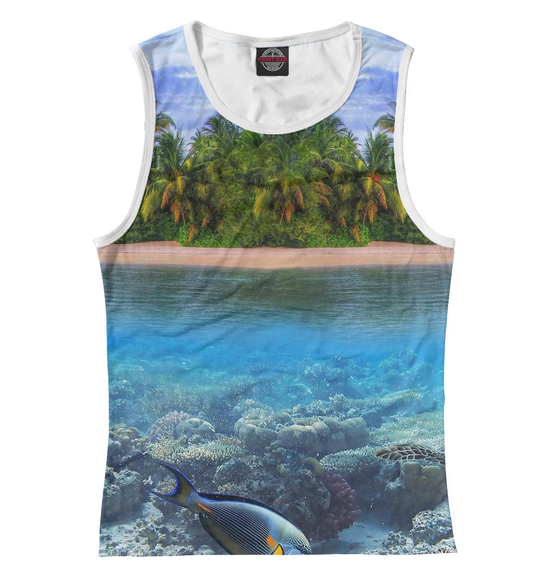 Купить Тропический остров, Printbar, Майки, PEY-401053-may-1