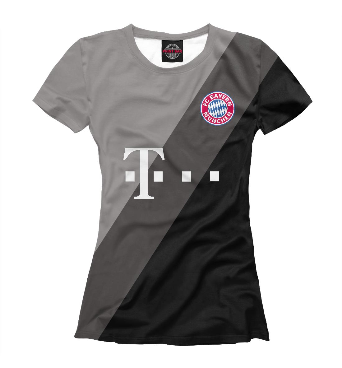 Купить Bayern Munchen Grey Lines, Printbar, Футболки, BAY-737131-fut-1