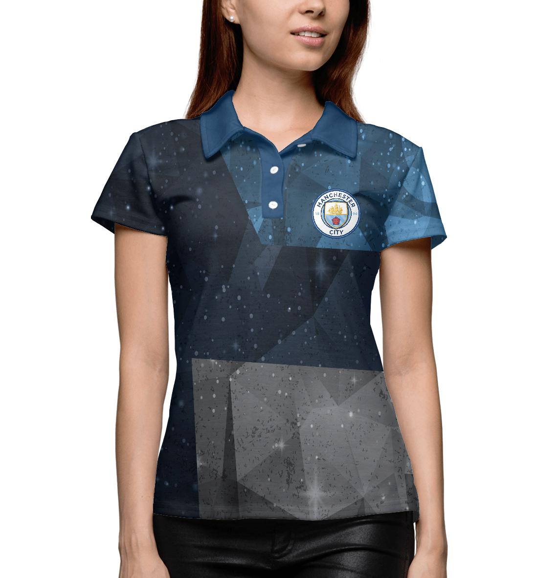 Купить FC Manchester City, Printbar, Поло, MNC-763512-pol-1