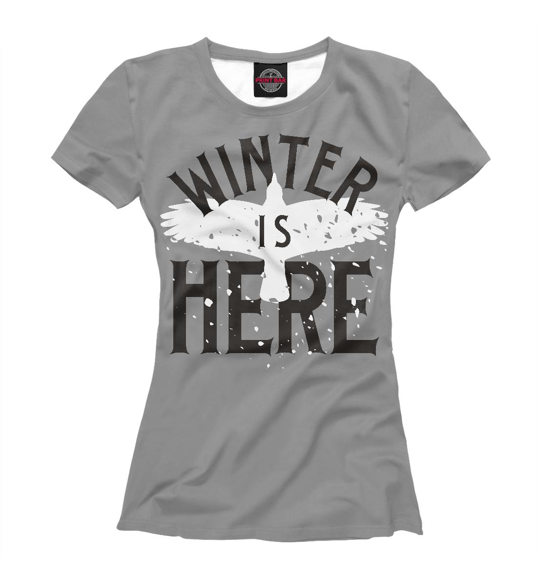 Купить Зима здесь, Printbar, Футболки, IGR-302770-fut-1