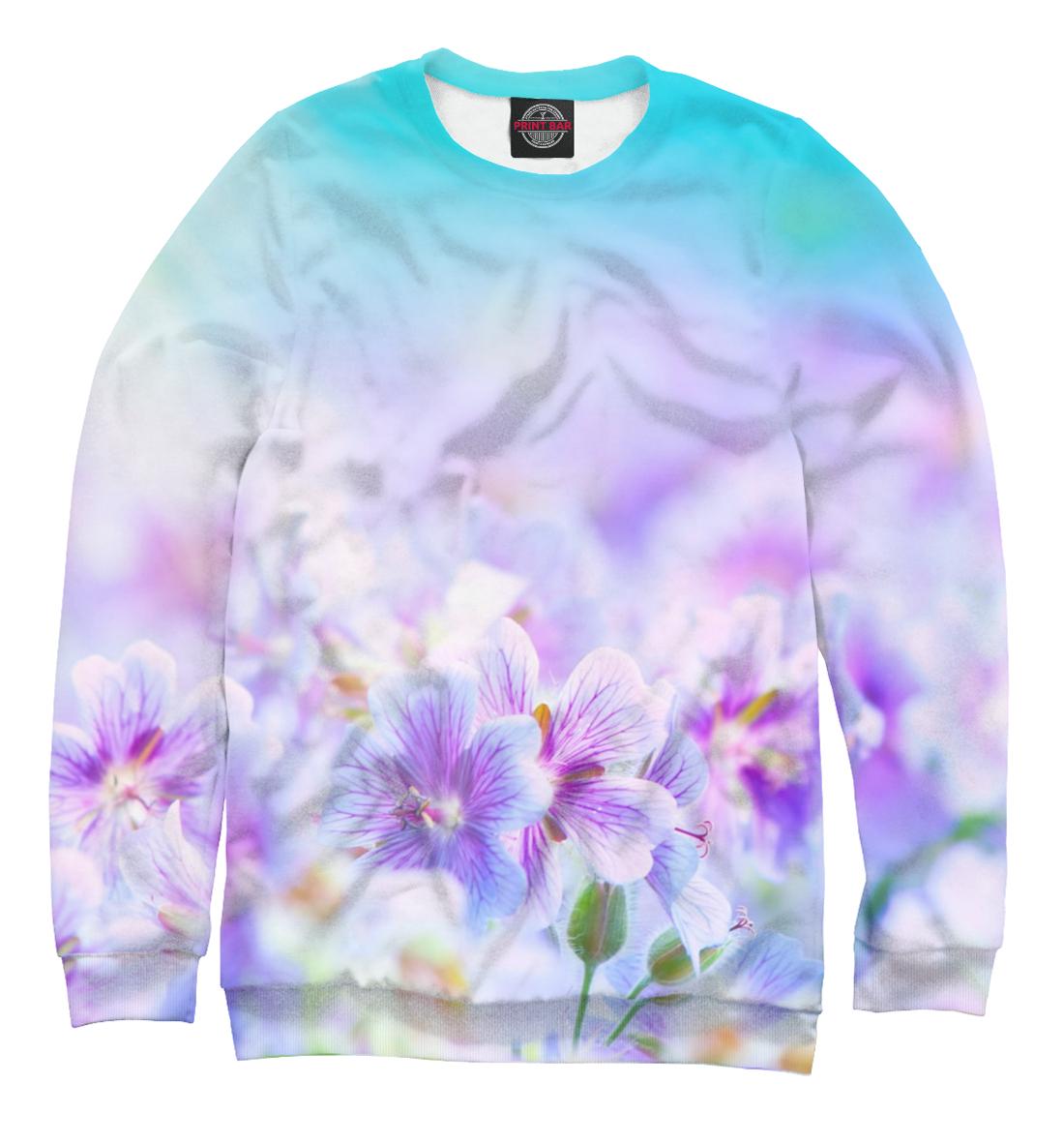 Купить Сиреневые цветочки, Printbar, Свитшоты, CVE-837565-swi-1
