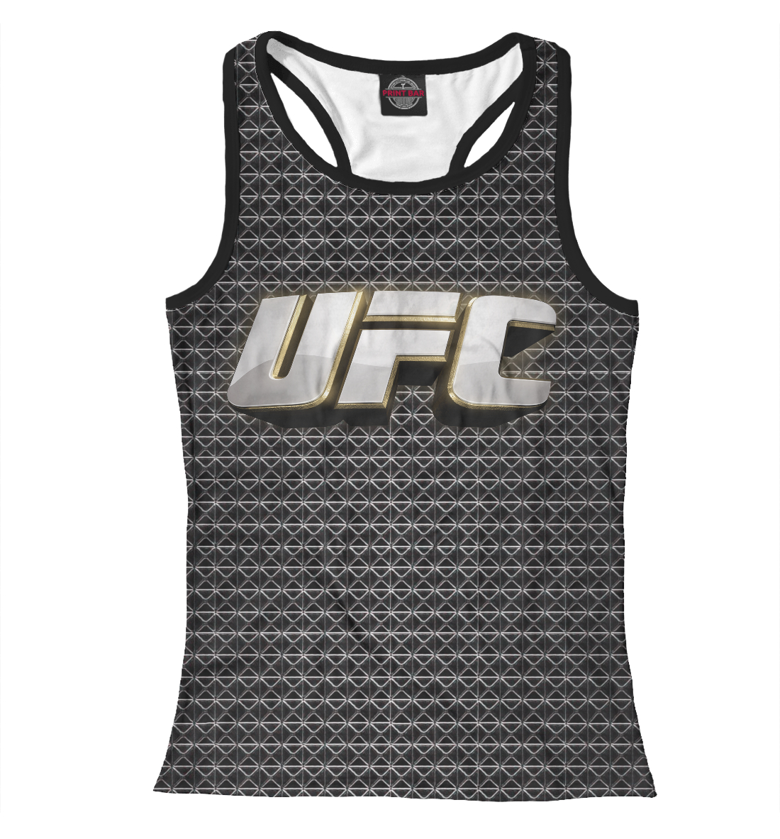 Купить UFC logo, Printbar, Майки борцовки, MNU-582544-mayb-1