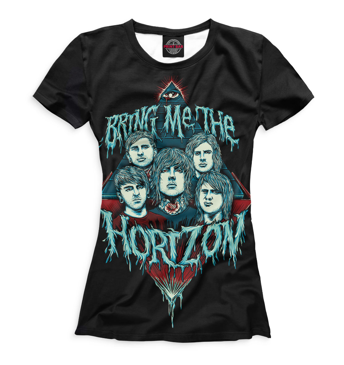Купить Bring Me the Horizon, Printbar, Футболки, BRI-294855-fut-1