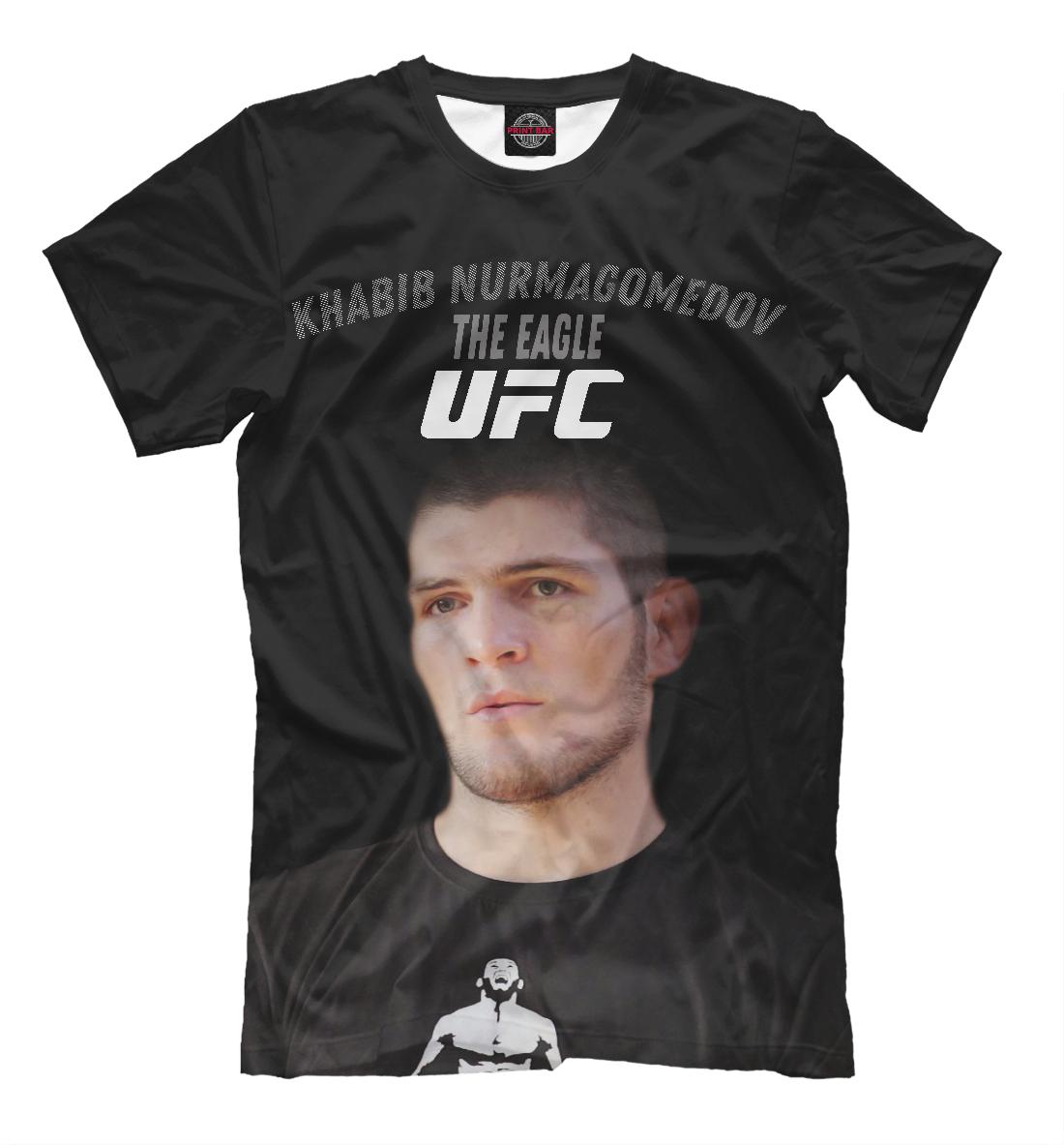 Купить UFC | Хабиб Нурмагомедов, Printbar, Футболки, NUR-833474-fut-2