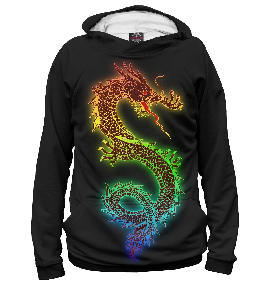 Радужный дракон, Printbar, Худи, DRA-501476-hud-1  - купить со скидкой