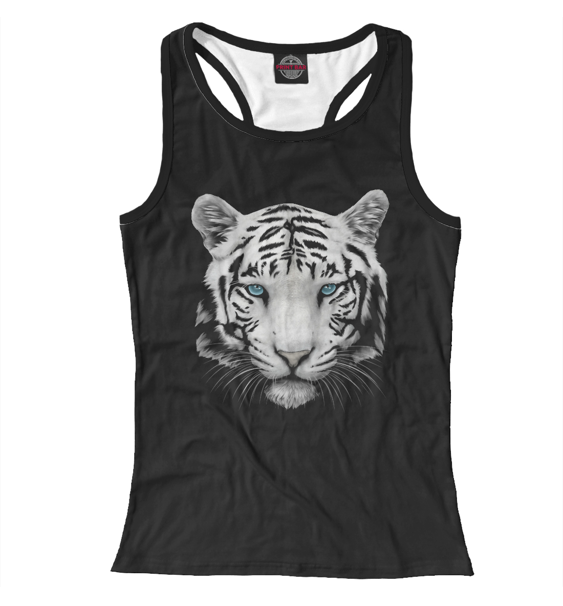 Купить Белый тигр, Printbar, Майки борцовки, HIS-263236-mayb-1