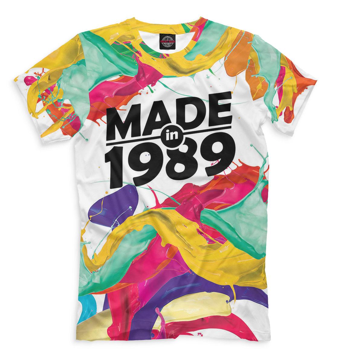 Купить Made in 1989, Printbar, Футболки, DVA-248315-fut-2