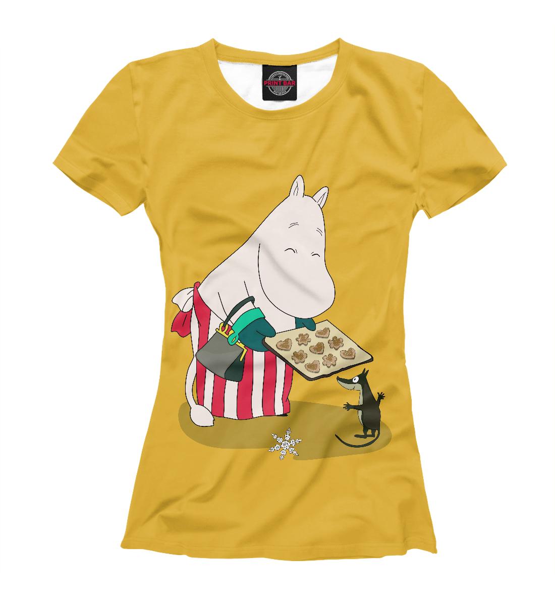 Купить Moomin mama, Printbar, Футболки, MFR-411127-fut-1