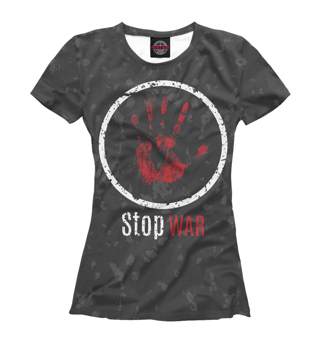 Купить Stop war, Printbar, Футболки, NDP-642308-fut-1