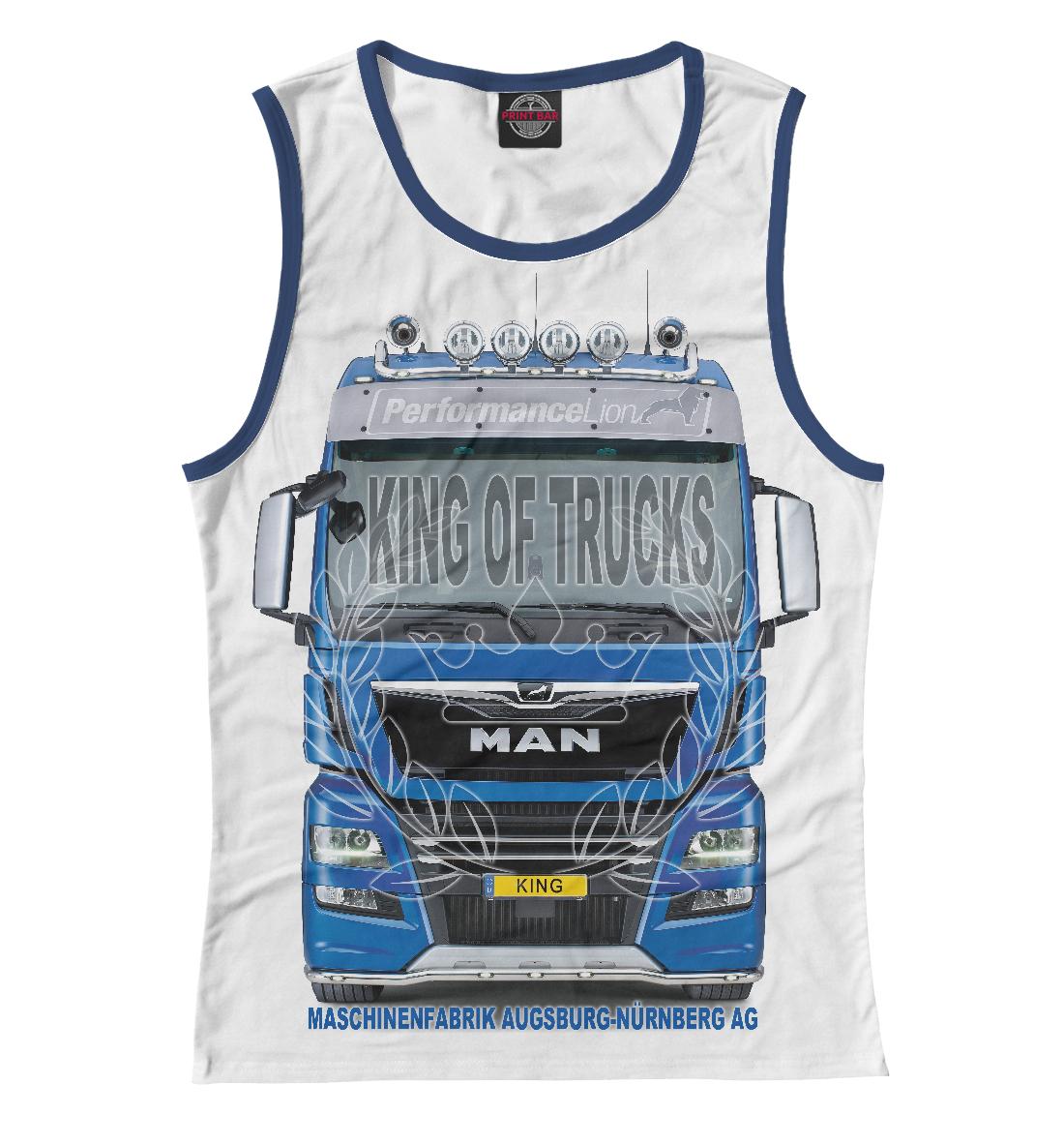 Купить MAN король грузовиков, Printbar, Майки, GRZ-473908-may-1