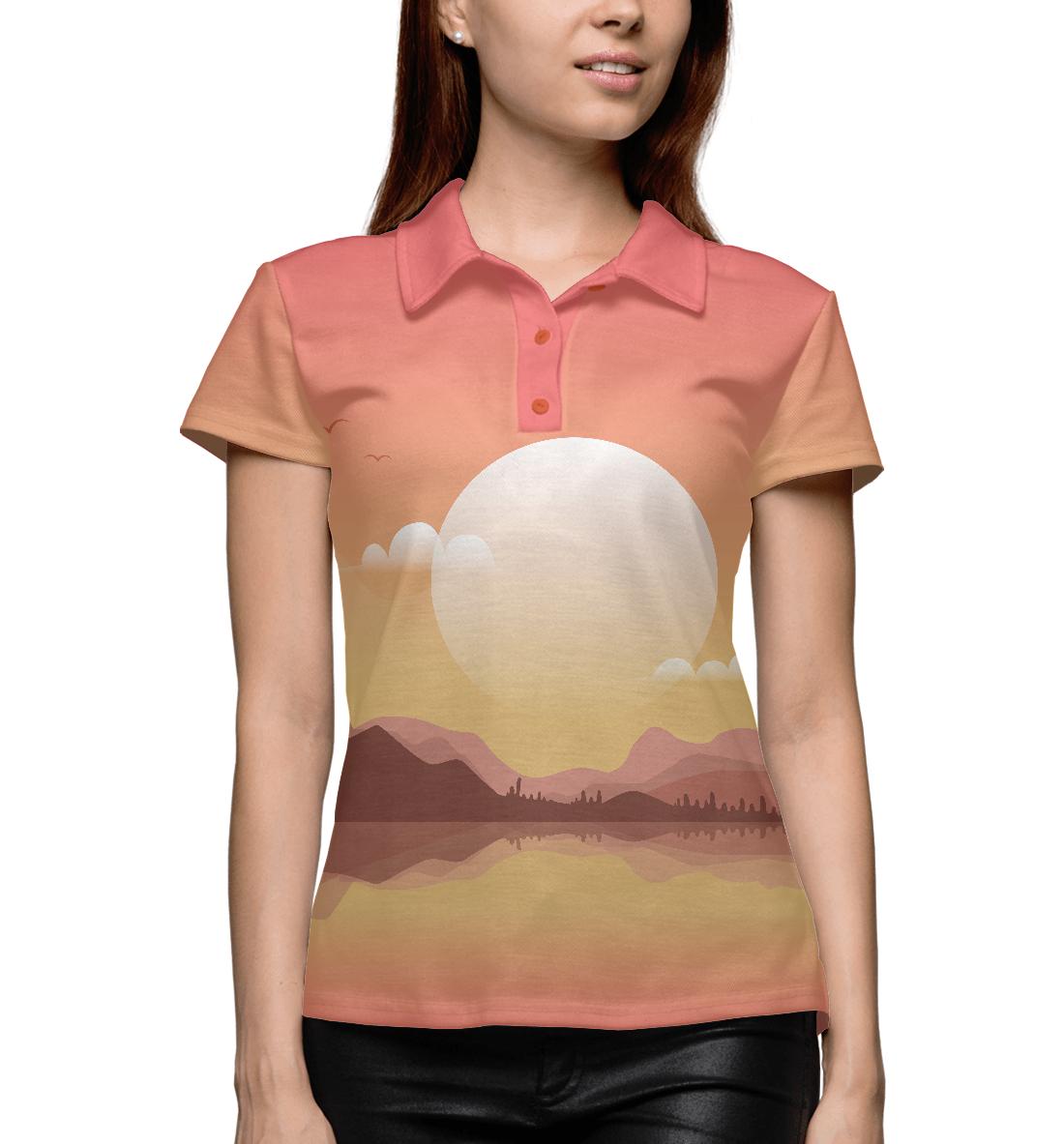 Купить Восход на горами, Printbar, Поло, SUN-747266-pol-1