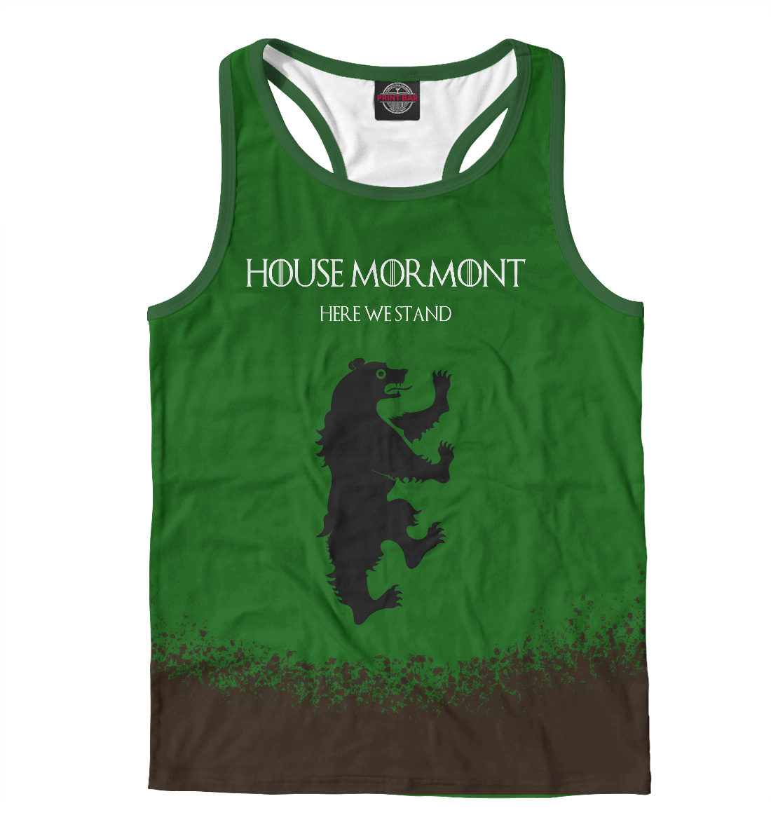 Купить House Mormont, Printbar, Майки борцовки, IGR-431241-mayb-2