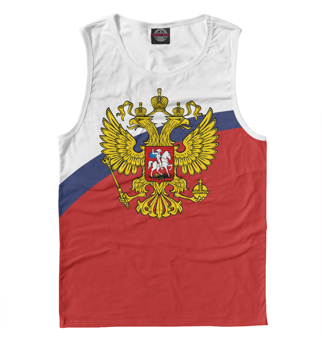 Купить Россия Триколор, Printbar, Майки, SRF-545841-may-2