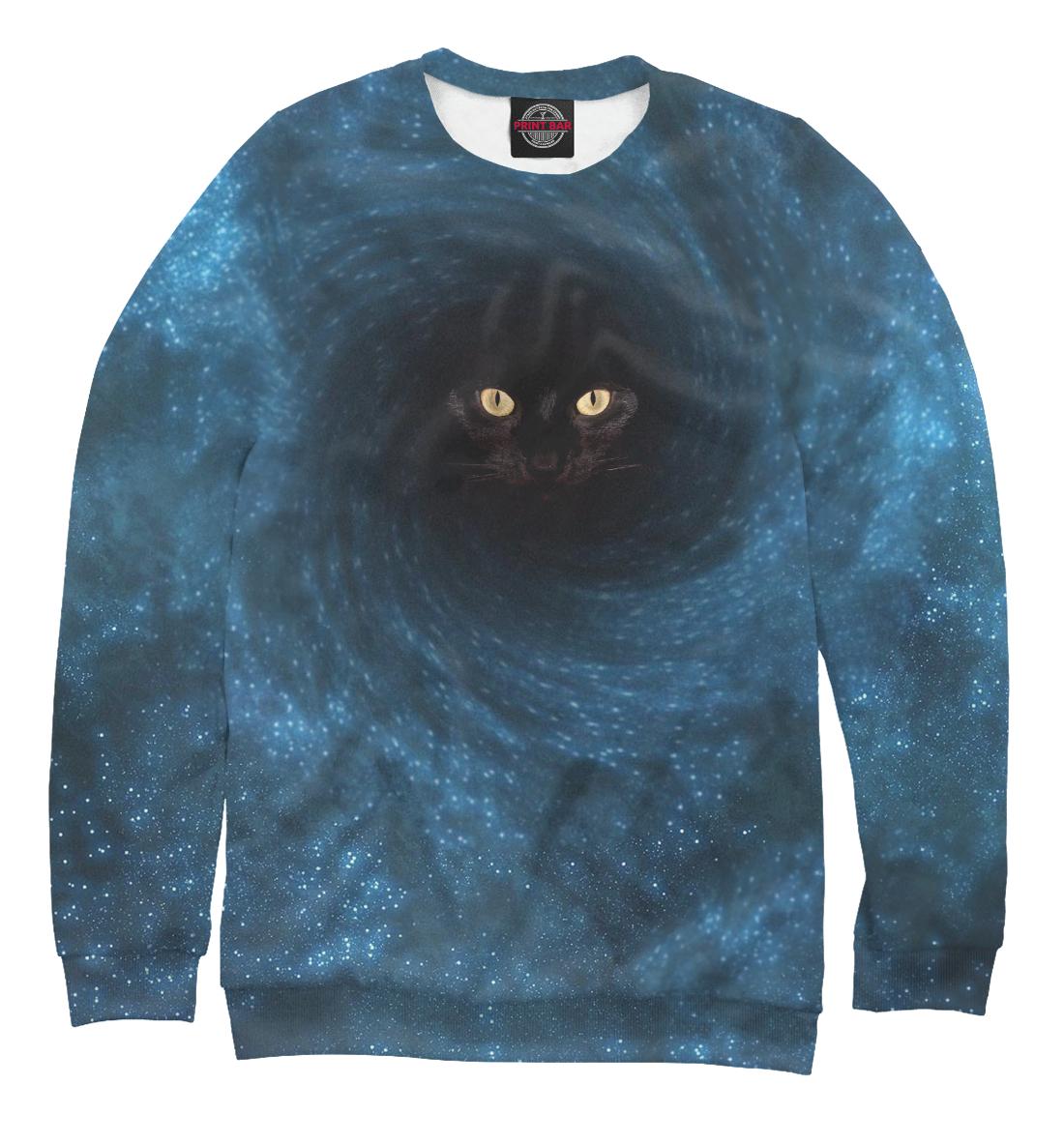 Купить Черный кот в черной дыре, Printbar, Свитшоты, SPA-858104-swi-1