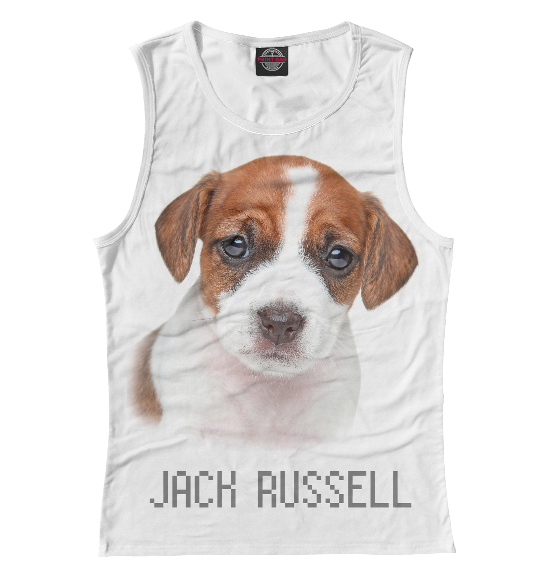 Купить JACK RUSSELL, Printbar, Майки, DOG-160304-may-1