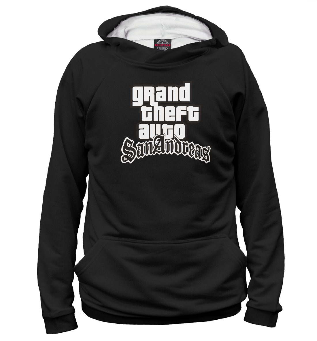 Купить GTA San Andreas Logo, Printbar, Худи, ROC-572197-hud-1