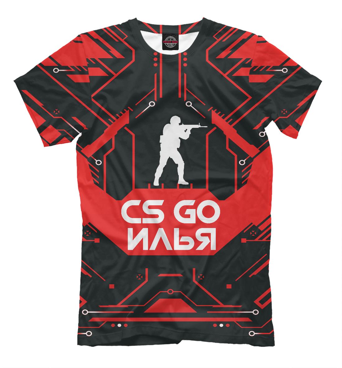 Купить Илья в стиле CS GO, Printbar, Футболки, ILY-103764-fut-2
