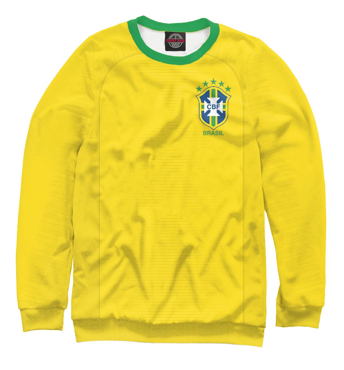 Купить Форма Сборной Бразилии 2018, Printbar, Свитшоты, FNS-723130-swi-2