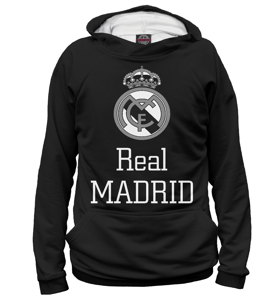 Купить Real Madrid, Printbar, Худи, REA-513887-hud-2
