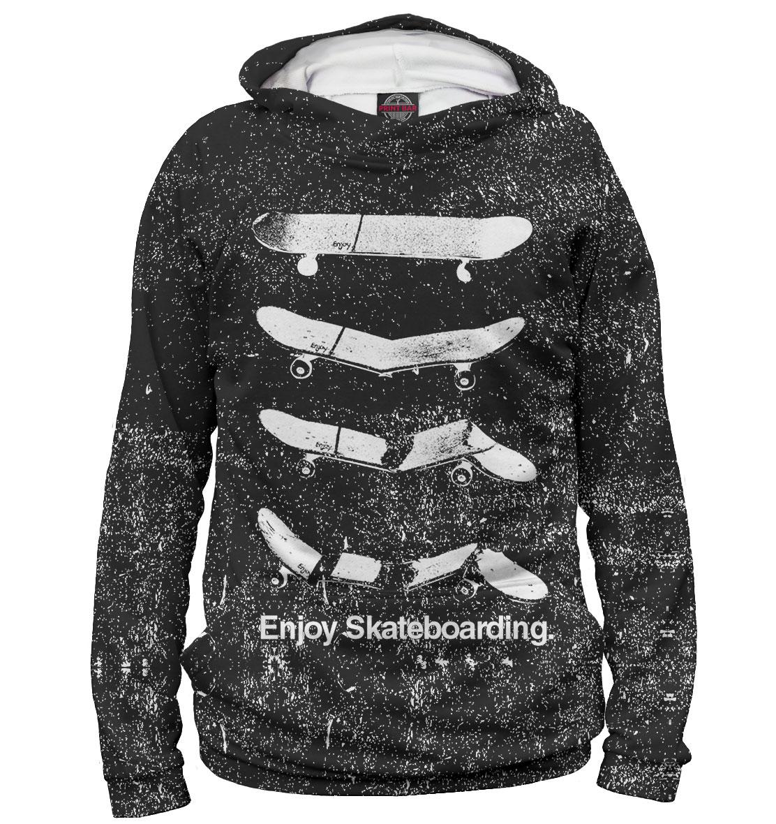 Купить Enjoy Skateboarding, Printbar, Худи, SKT-487005-hud-1