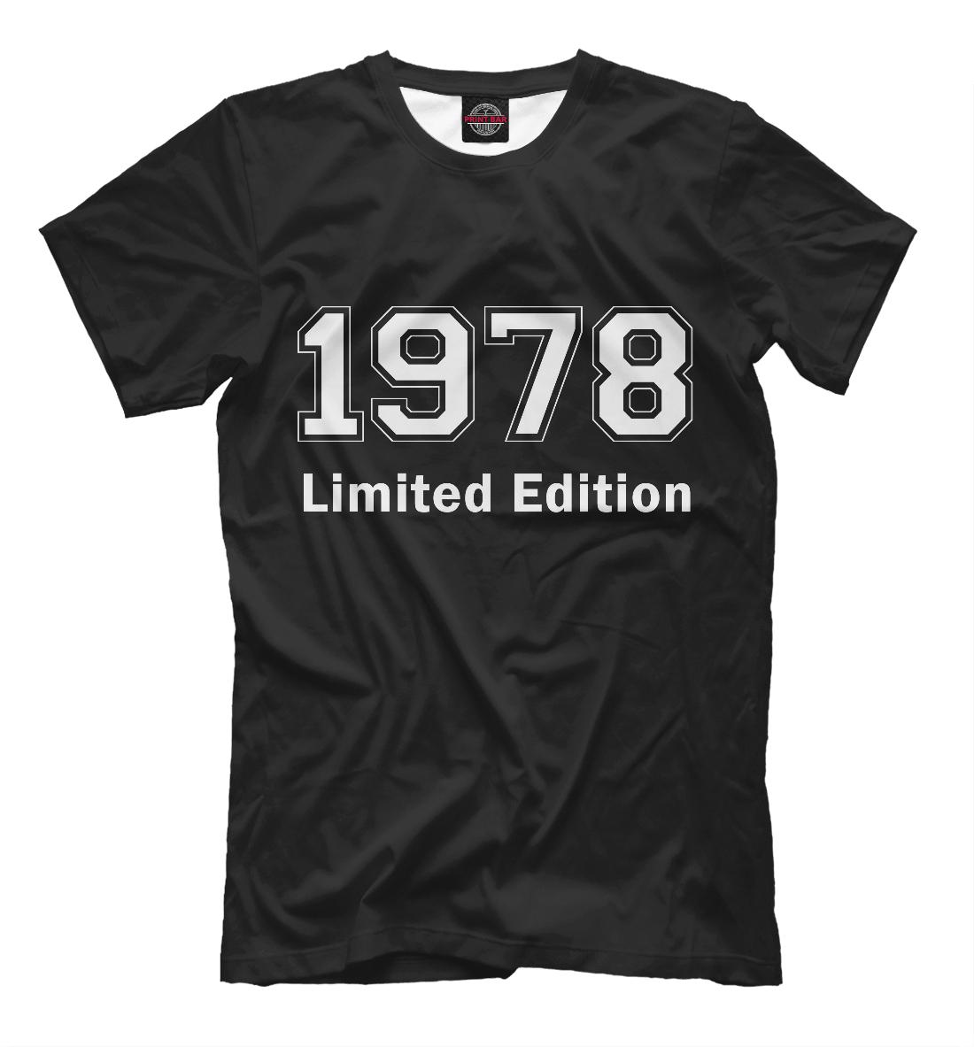 Купить Limited Edition 1978, Printbar, Футболки, DSV-808812-fut-2