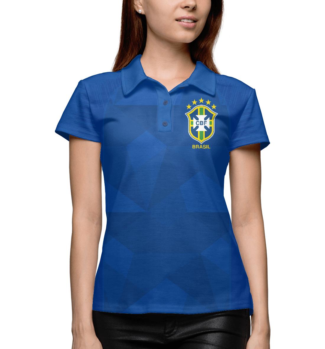 Купить Бразилия, Printbar, Поло, FNS-959264-pol-1