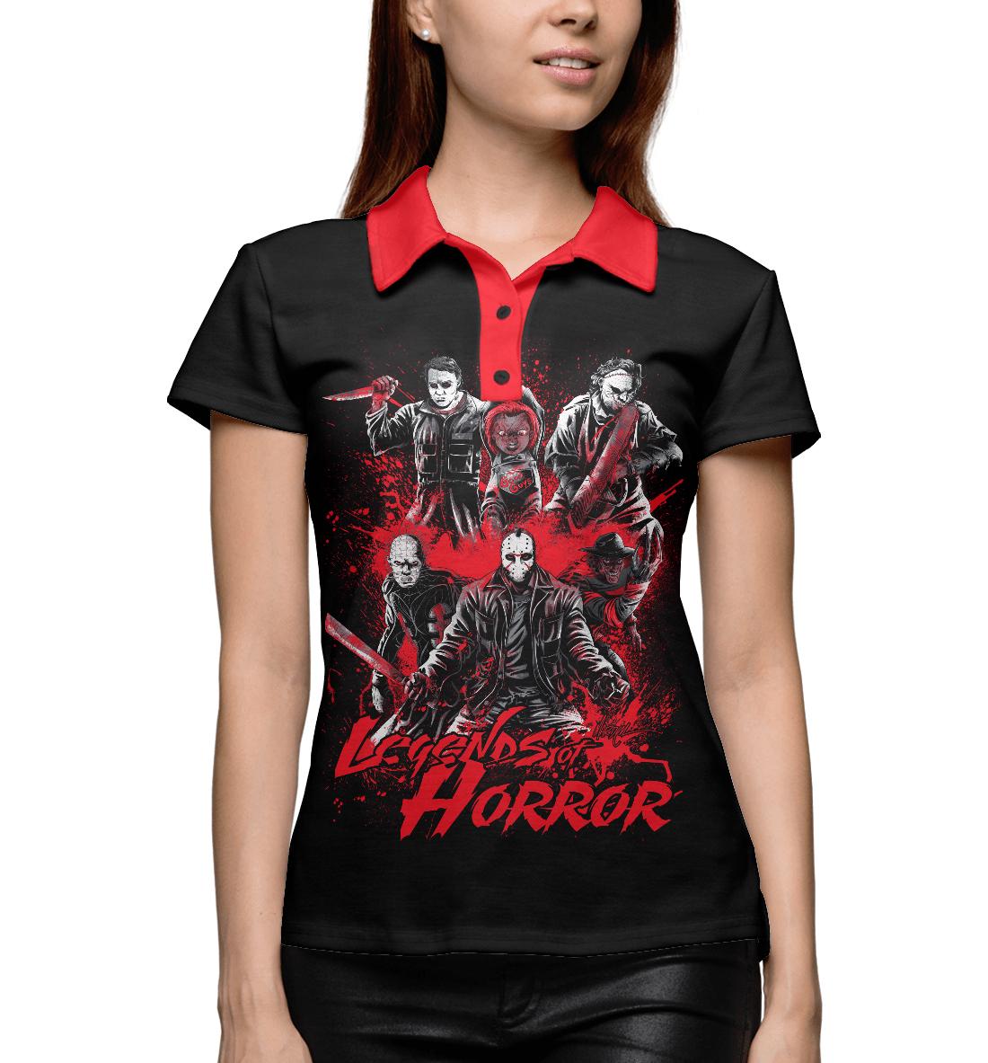 Купить Legends of Horror, Printbar, Поло, HOR-202341-pol-1