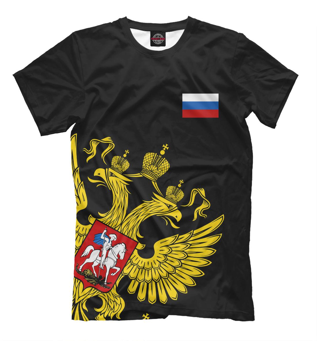 Купить Россия Флаг и Герб, Printbar, Футболки, SRF-406844-fut-2