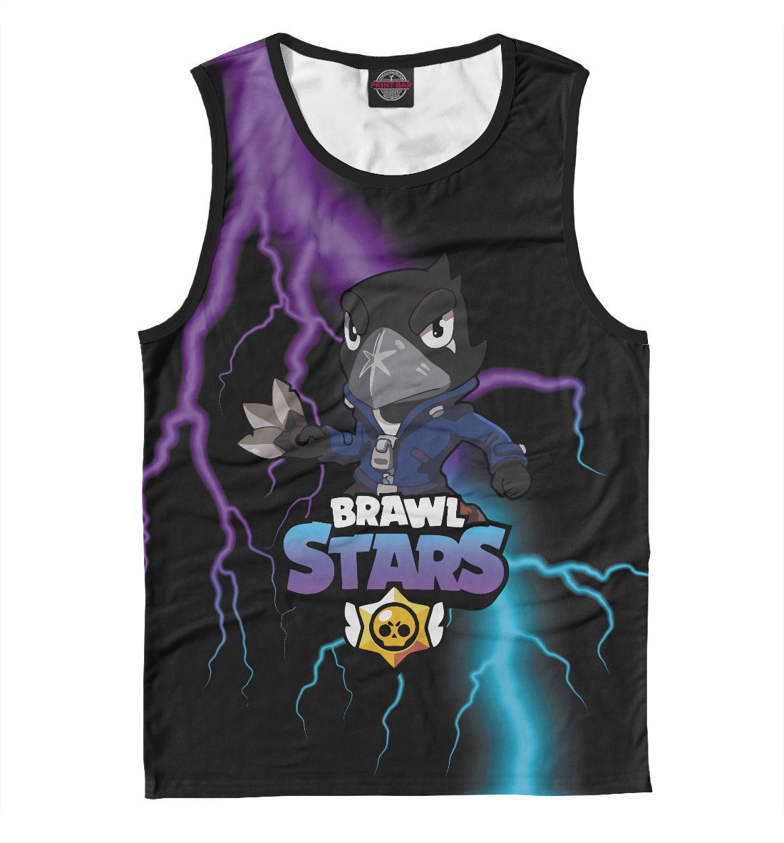 Brawl Stars Crow детская футболка 3d brawl stars crow 128