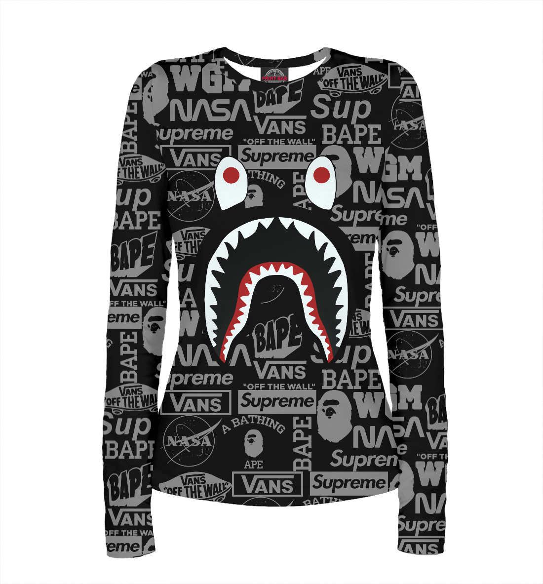 Bape shark printio bape shark