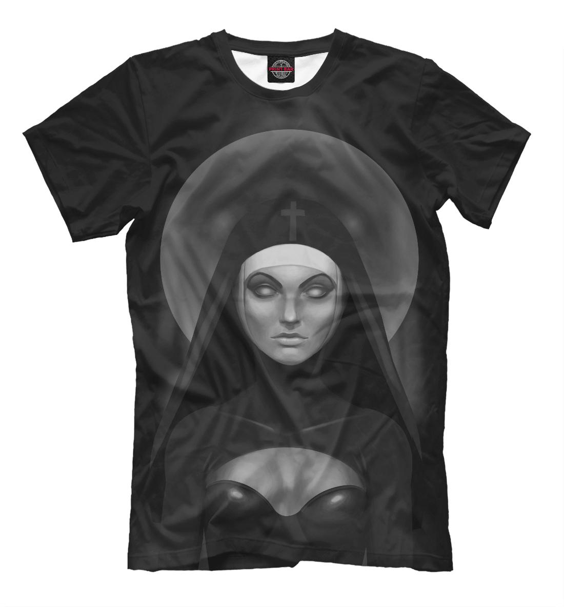 Картинка монашки на футболку