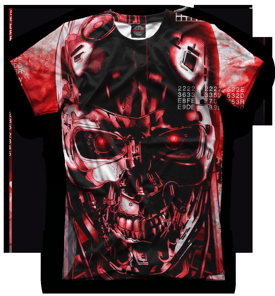 Купить Мужская футболка Терминатор TER-935286-fut-2