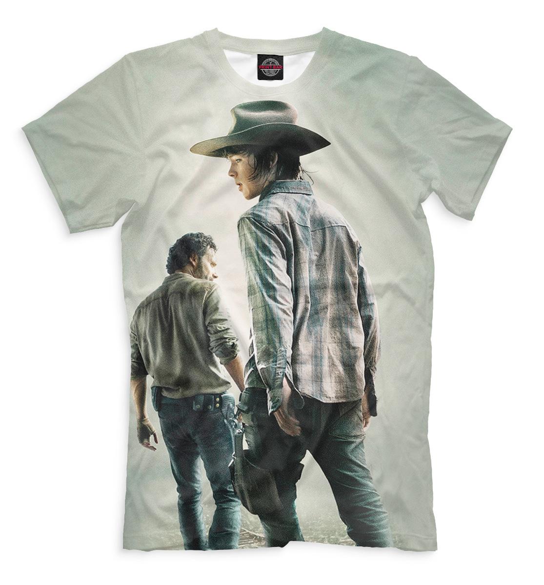 Купить Мужская футболка Ходячие мертвецы HOD-463179-fut-2