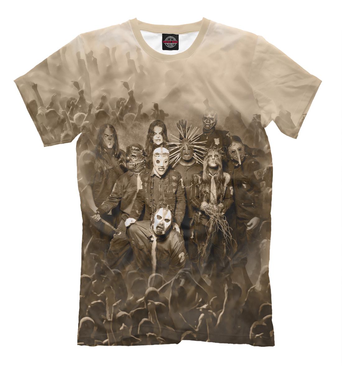 Купить Мужская футболка SlipKnot SLI-336276-fut-2