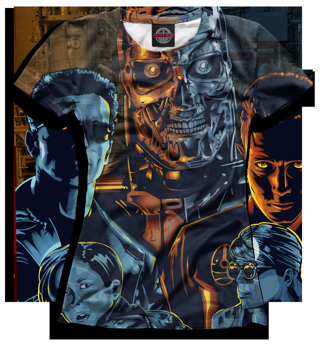 Купить Женская футболка Терминатор TER-807278-fut-1