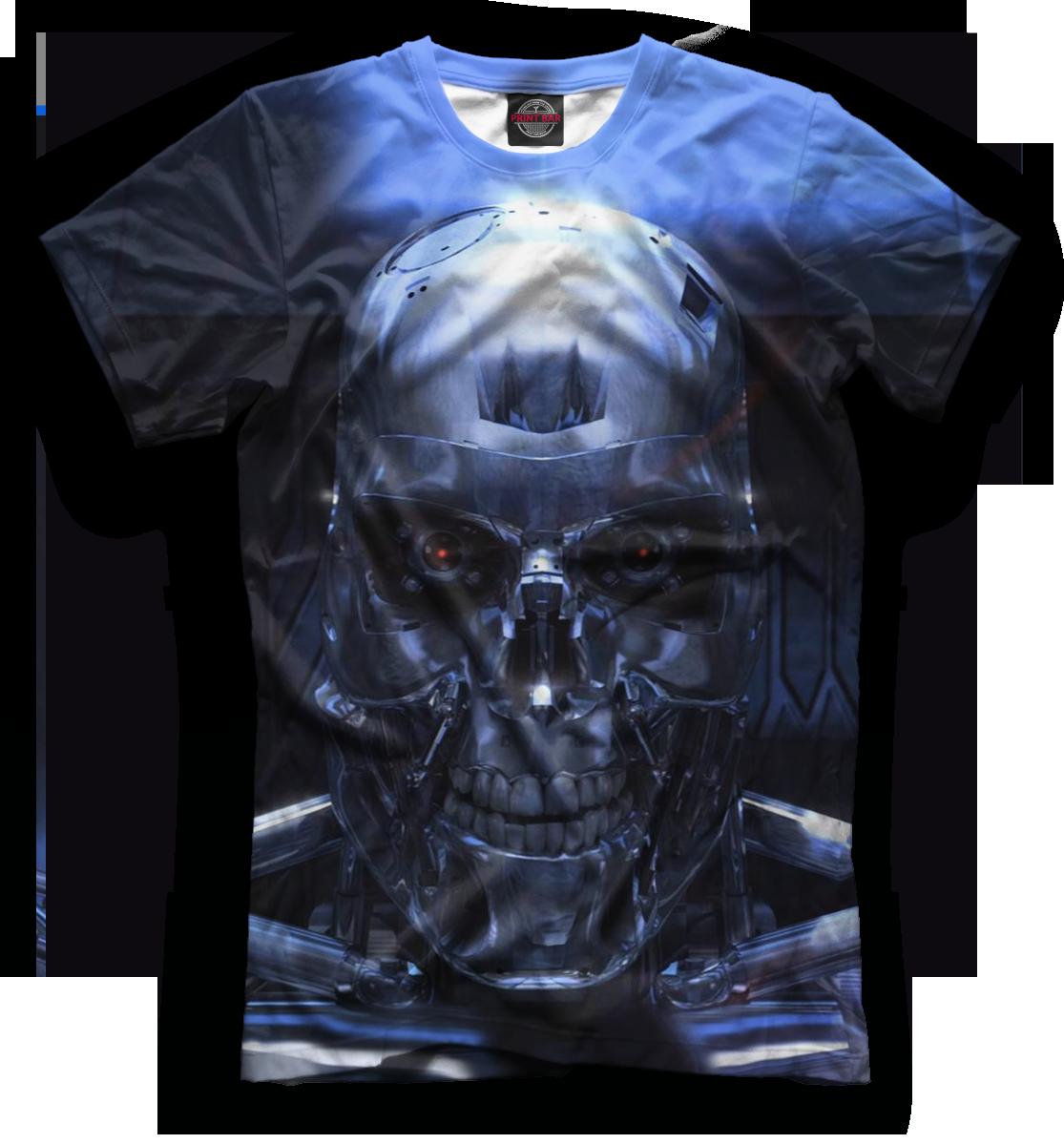 Купить Мужская футболка Терминатор TER-144601-fut-2