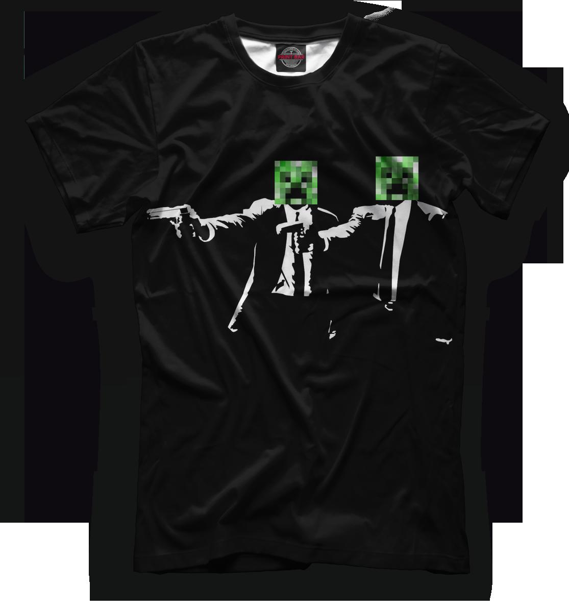Купить Мужская футболка Minecraft MCR-707985-fut-2
