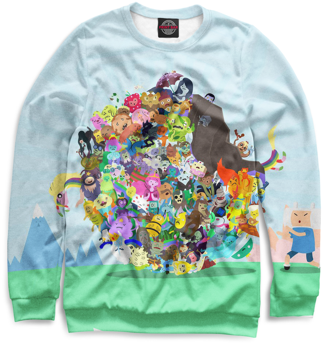Купить Женский свитшот Adventure Time ADV-991313-swi-1